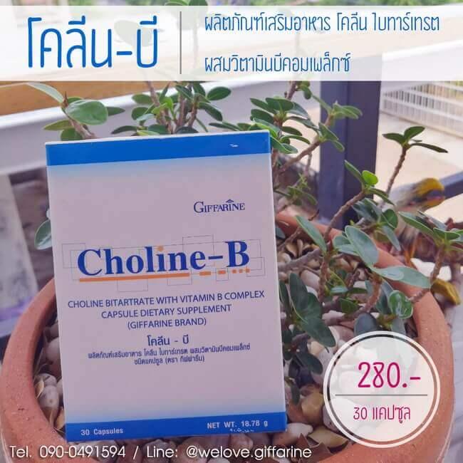 โคลีนบี กิฟฟารีน, Giffarine Choline-B